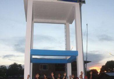 MDM inauguró un tanque elevado