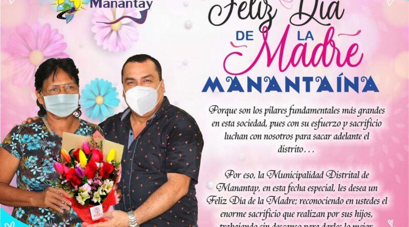 FELIZ DÍA DE LA MADRE MANANTAÍNA