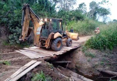 MDM CULMINA CONSTRUCCIÓN DE 3 PUENTES TRONCALES EN EL CASERÍO PUCALLPILLO